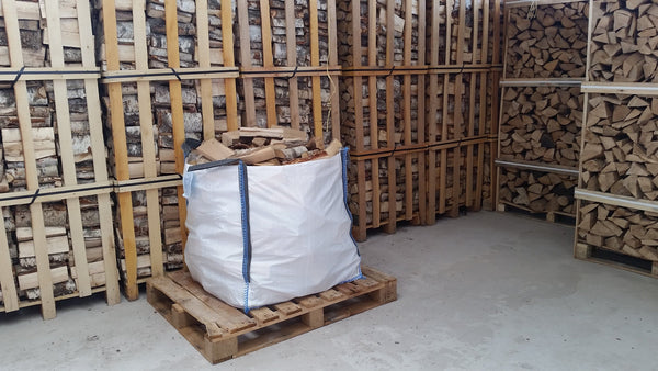Bulk Bag Birch Logs - logsandfuel