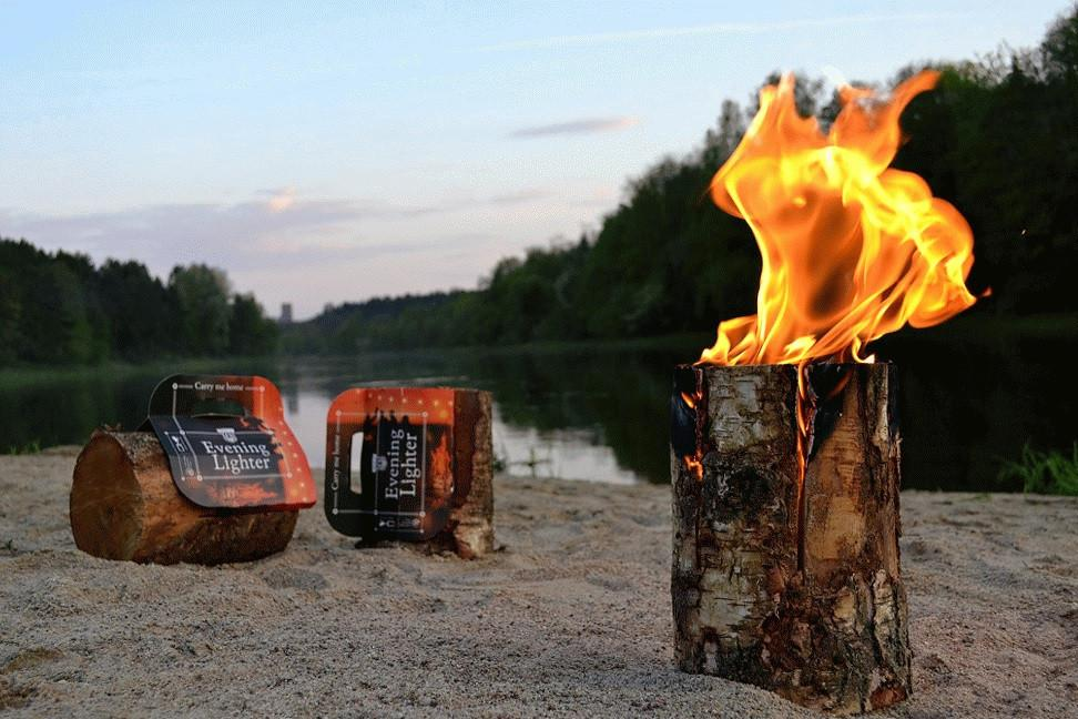 Evening lighters, Swedish tourches, fire lights - logsandfuel