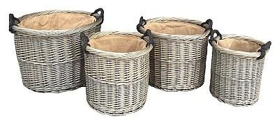 Darwin log basket availble in four sizes or full set - logsandfuel - 1