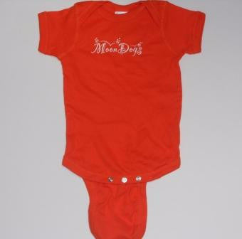 Infant Shirt: Orange - Kelvin