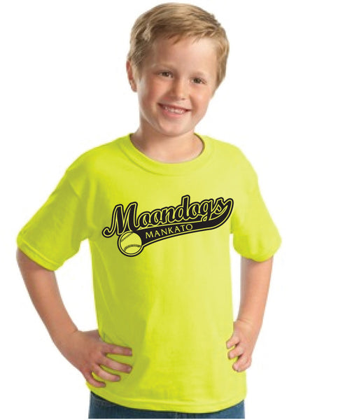 Youth Shirt: Bright Green - Kayden