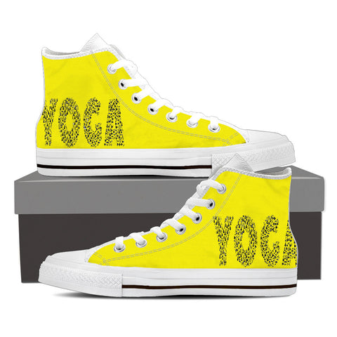 Ladies Yoga High Top Shoes