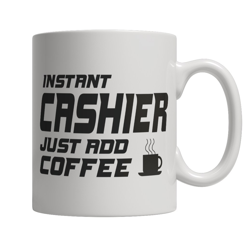 Limited Edition - Instant Cashier Just Add Coffee! Male