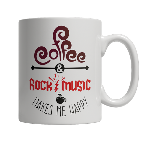 Limited Edition - Coffee and Rock Music Makes Me Happy