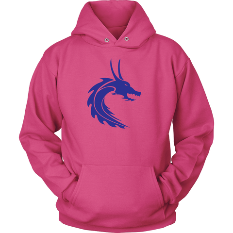Mens & Ladies Steamdragons Logo Hoodie