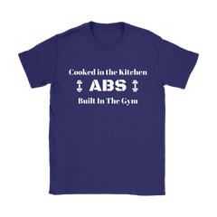 Abs Cooked in The Kitchen T Shirt  Text Logo - Limited Edition