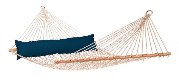 La Siesta Kingsize Spreader Bar Rope Hammock CALIFORNIA navy blue