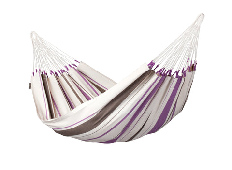 La Siesta Single Hammock CARIBEÑA purple