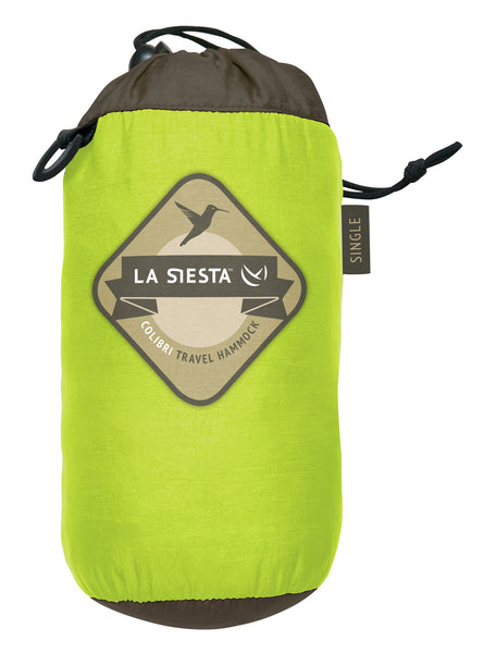 La Siesta Single Travel Hammock COLIBRI green