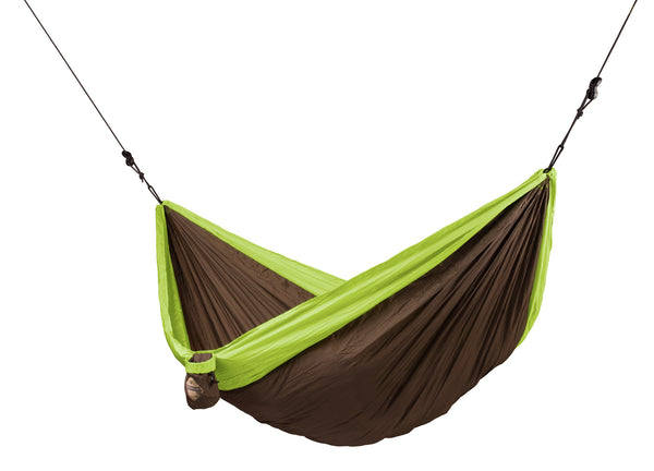 La Siesta Double Travel Hammock COLIBRI green