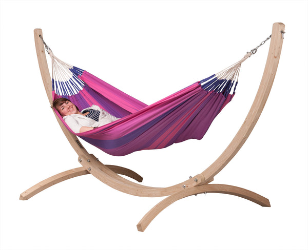 La Siesta Stand for Single Hammocks CANOA wood
