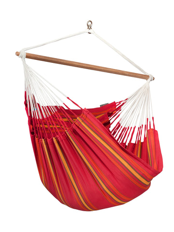 La Siesta Hammock Chair Lounger CURRAMBERA cherry