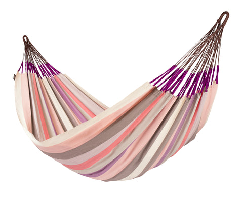 La Siesta Family Hammock DOMINGO plum