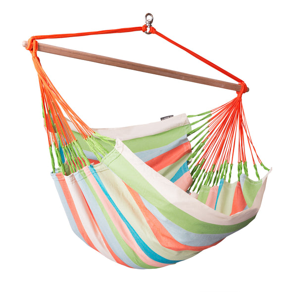 La Siesta Hammock Chair Lounger DOMINGO coral