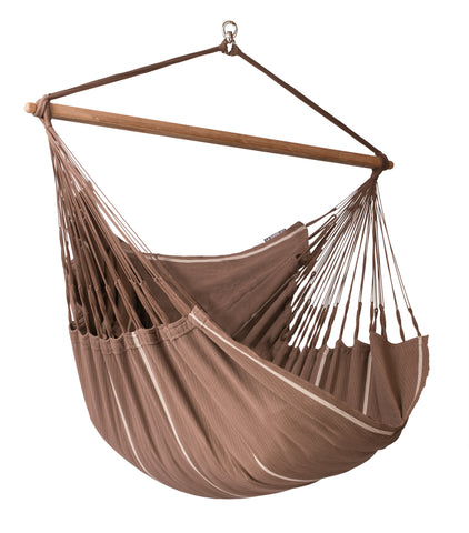 La Siesta Hammock Chair Lounger HABANA chocolate
