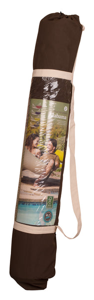 La Siesta Kingsize Spreader Bar Padded Hammock ALABAMA arabica