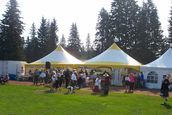 30' x 30' Marquee Tent - Perfect Party Place