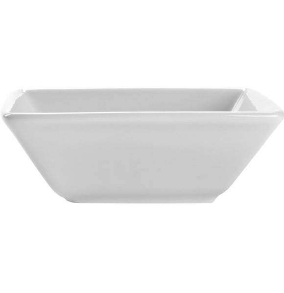 White Square Serving Bowl 9