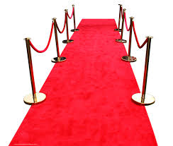 Aisle Carpet Red 4' x 10'