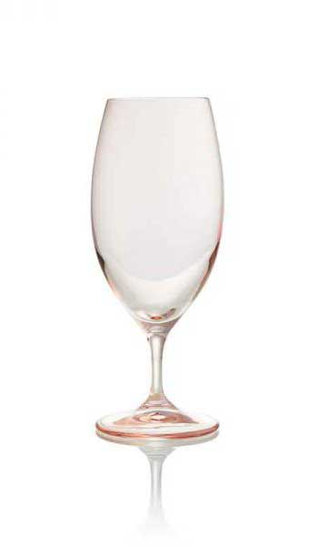 Aurora Blush Water Goblet