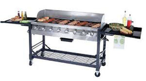 BBQ Propane  2' x 5' - Perfect Party Place