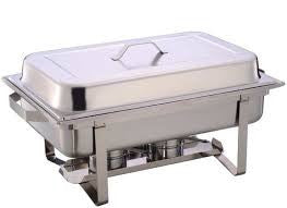Chafing Dish - Stainless Steel 8 Qt
