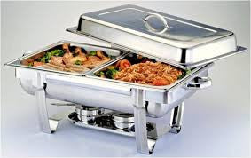 Chafing Dish - Stainless Steel 8 Qt - Perfect Party Place