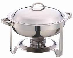Chafing Dish - Round 4 Qt. - Perfect Party Place