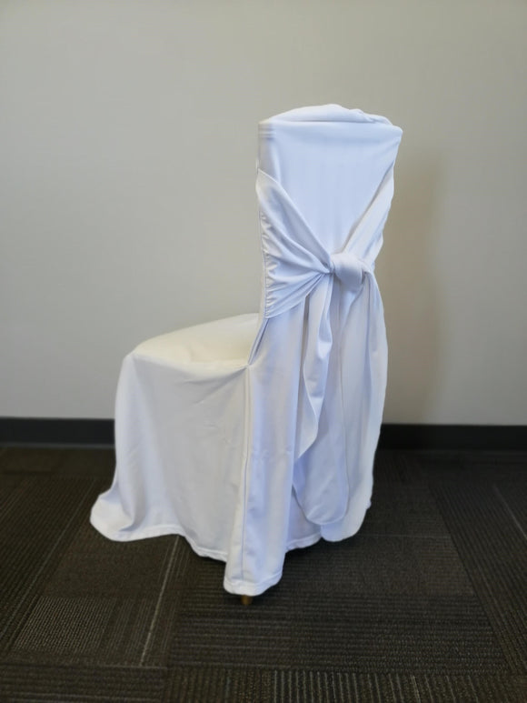 Chair Cover - Bella - White