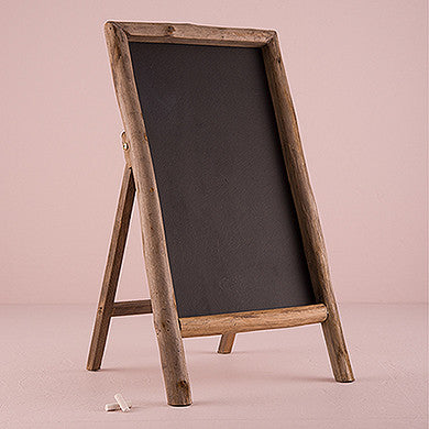 Self Standing Rustic Chalkboard Sign