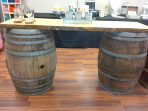 LiveEdge/Wine Barrel Bar - Perfect Party Place