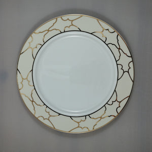 "Moroccan Ivory 10.5"" Plate"