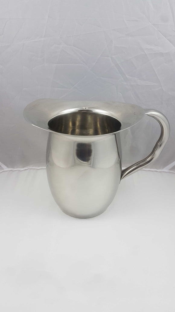 SS Water Pitcher - 64 oz.