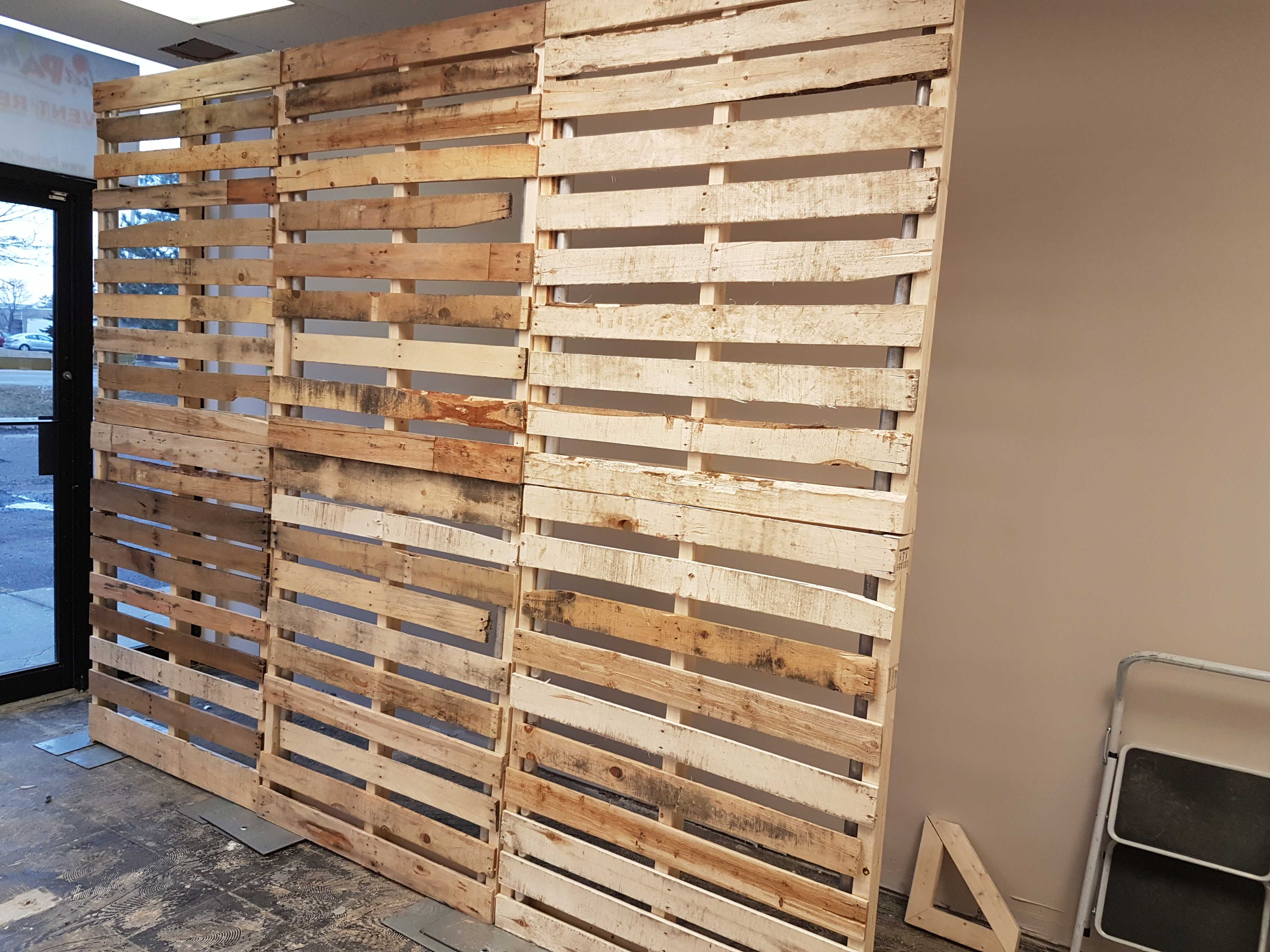 Pallet Wall Backdrop Perfect Party Event Rentals