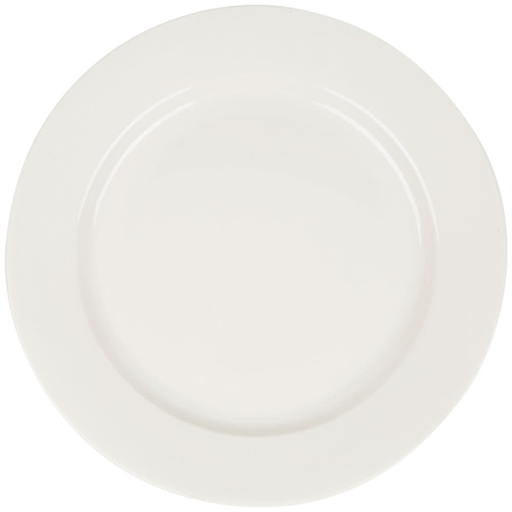 "Primary White 9"" Plate"