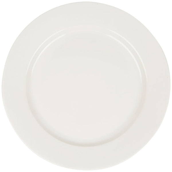 "Primary White 12"" Plate"