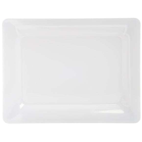 White Rectangular Platter 12