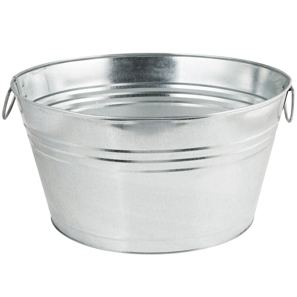 Galvanized Beverage Tub - 10.5 Gallon