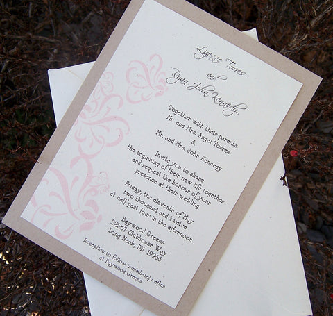 Wedding Invitations Page 4 The Extra Detail – Handmade Rustic Wedding Invitations