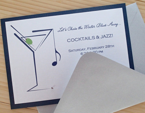 Cocktail and Music Party Invitation