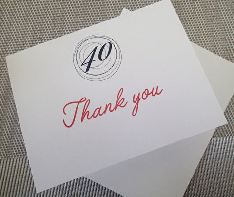 Custom Thank You Notes ( Set of 25) / Thank you Card/ Wedding Thankyou Card/ Personalized Birthday Thank you Note