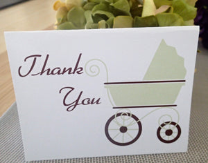 Custom Thank You Notes ( Set of 25) / Thank you Card/ Wedding Thankyou Card/ Personalized Baby Thank you Note