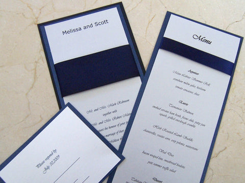 Majestic Invitation Set