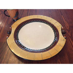 "XL Round Platter (16.5"") - Trophy Room Collection"