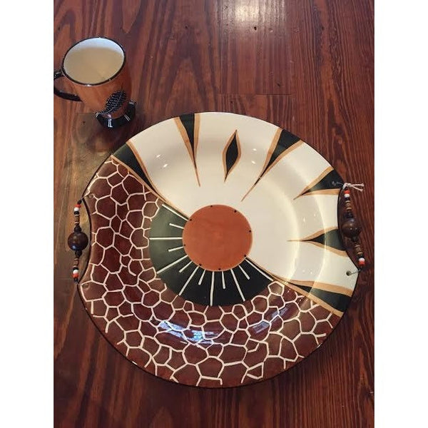 "XL Round Platter (16.5"") - Trophy Room Collection  - 2"