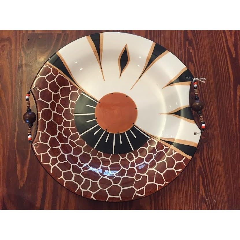 "XL Round Platter (16.5"") - Trophy Room Collection  - 1"