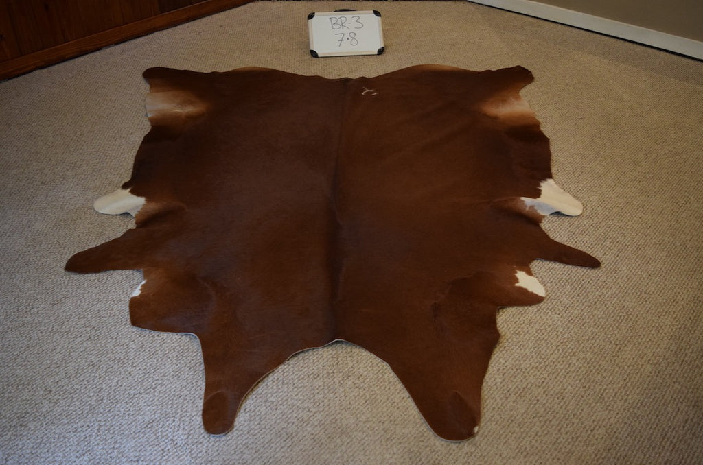 Natural Brown Cowhide