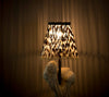 LIGHT SHADE - PORCUPINE QUILL - ROUND, SMALL - Trophy Room Collection
