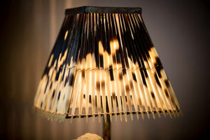 LIGHT SHADE - PORCUPINE QUILL - SQUARE SMALL - Trophy Room Collection