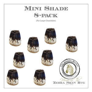 MINI PORCUPINE SHADES FOR LARGE CHANDELIER (8-pack) - Trophy Room Collection